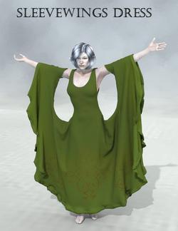 Christel-Sleevewings dress.png